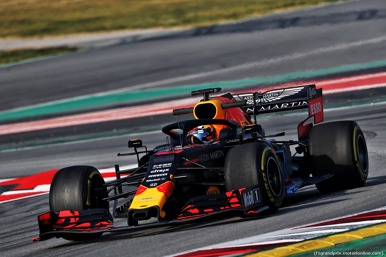 TEST F1 BARCELLONA 21 FEBBRAIO, Max Verstappen (NLD) Red Bull Racing RB14. 21.02.2019.