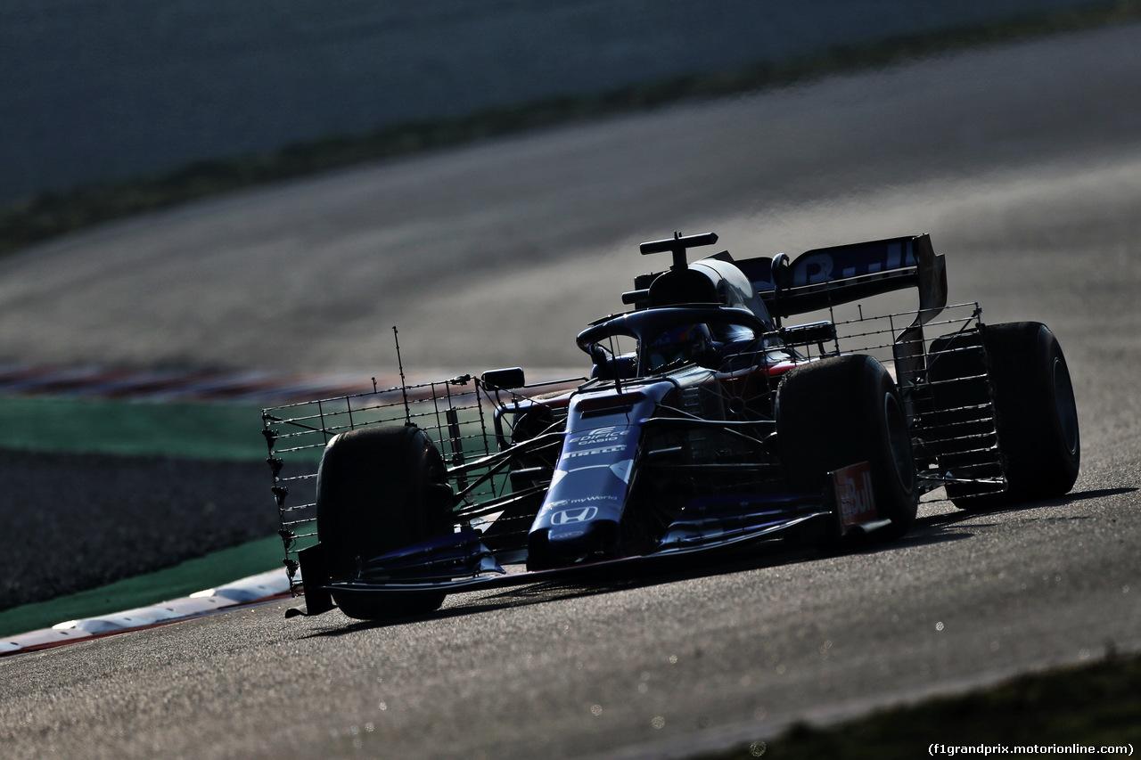 TEST F1 BARCELLONA 21 FEBBRAIO, Alexander Albon (THA) Scuderia Toro Rosso STR14. 21.02.2019.