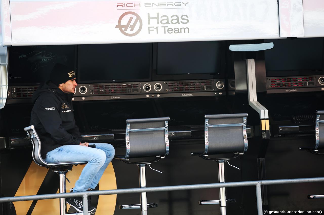 TEST F1 BARCELLONA 21 FEBBRAIO, Pietro Fittipaldi (BRA) Haas F1 Team Test Driver. 21.02.2019.