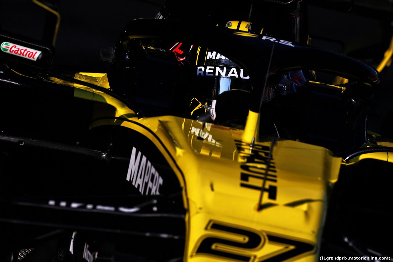TEST F1 BARCELLONA 21 FEBBRAIO, Nico Hulkenberg (GER) Renault Sport F1 Team RS19. 21.02.2019.