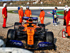 TEST F1 BARCELLONA 21 FEBBRAIO, Lando Norris (GBR) McLaren MCL34 in the gravel trap. 21.02.2019.