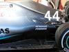TEST F1 BARCELLONA 26 FEBBRAIO, Lewis Hamilton (GBR) Mercedes AMG F1 W10 floor detail. 26.02.2019.