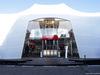 TEST F1 BARCELLONA 26 FEBBRAIO, Alfa Romeo Racing motorhome in the paddock. 26.02.2019.