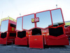 TEST F1 BARCELLONA 26 FEBBRAIO, Ferrari trucks in the paddock. 26.02.2019.