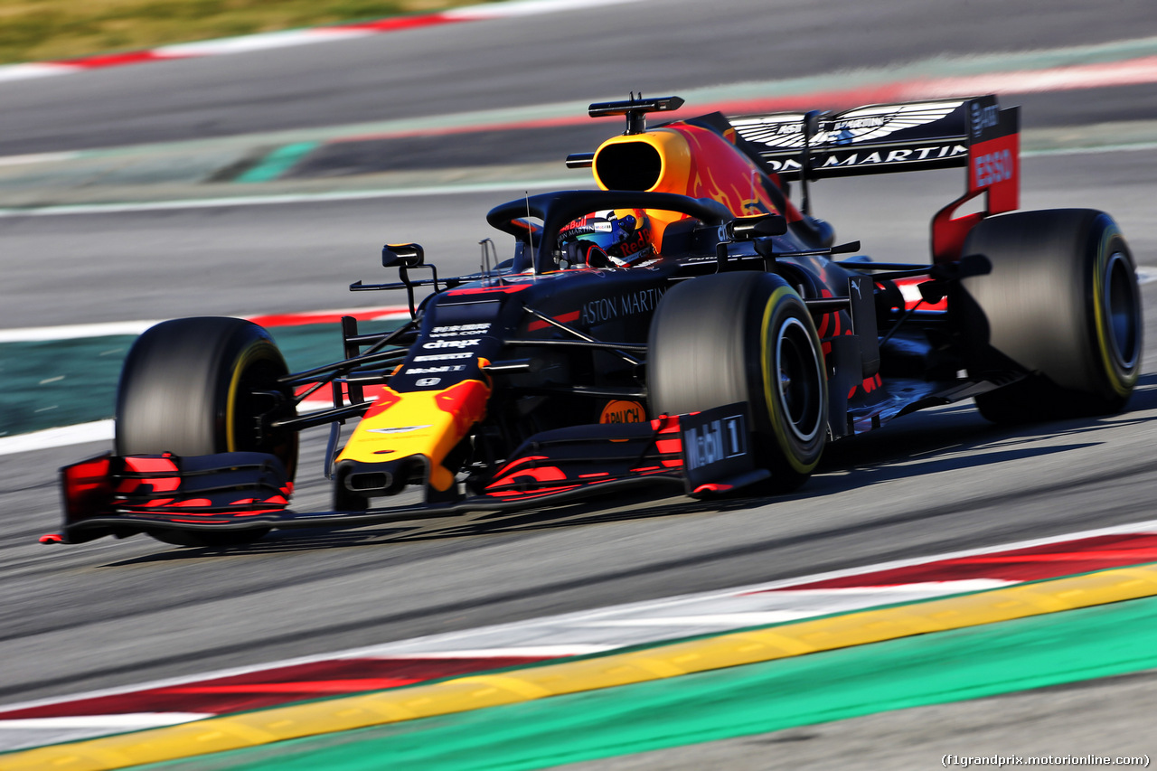 TEST F1 BARCELLONA 26 FEBBRAIO, Pierre Gasly (FRA) Red Bull Racing RB15. 26.02.2019.