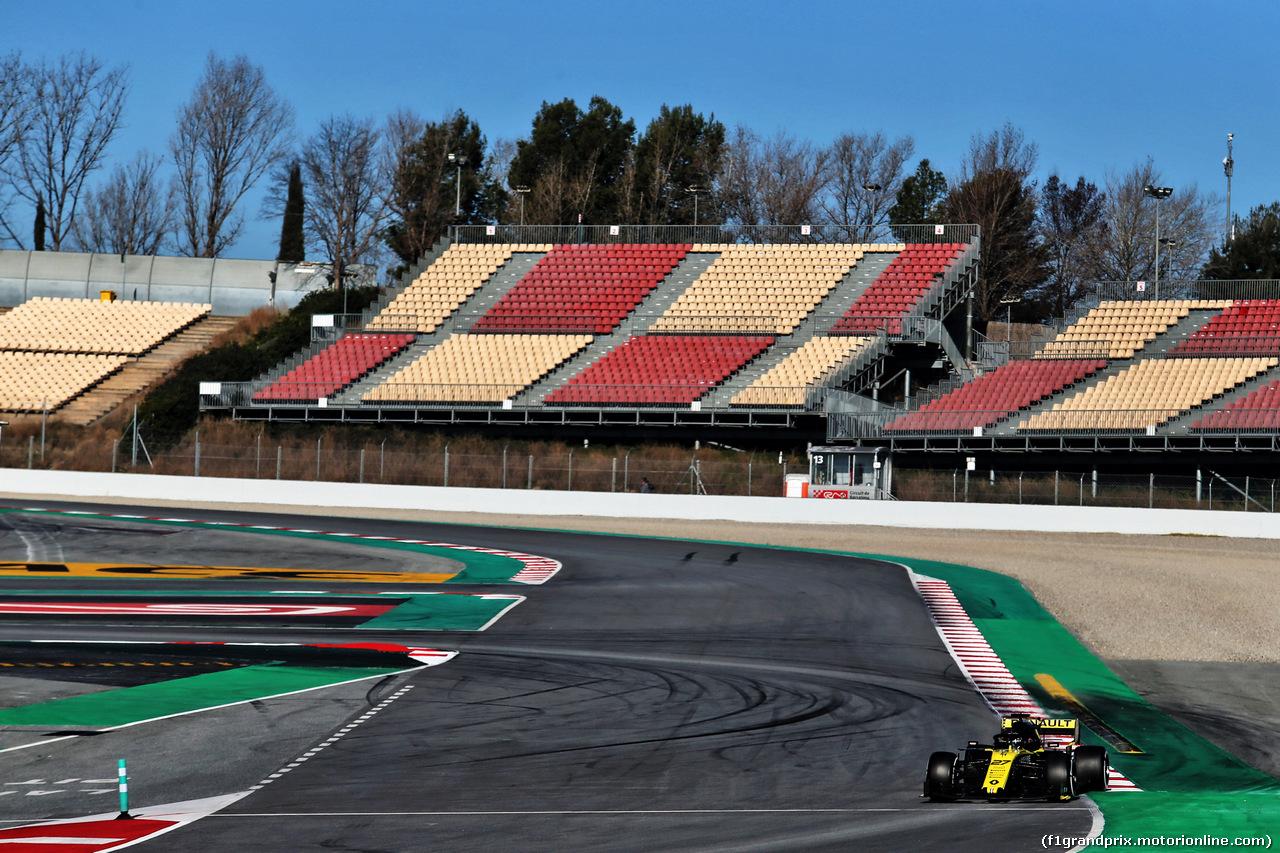 TEST F1 BARCELLONA 26 FEBBRAIO, Nico Hulkenberg (GER) Renault Sport F1 Team RS19. 26.02.2019.