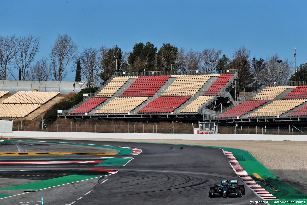 TEST F1 BARCELLONA 26 FEBBRAIO, Lewis Hamilton (GBR) Mercedes AMG F1 W10. 26.02.2019.