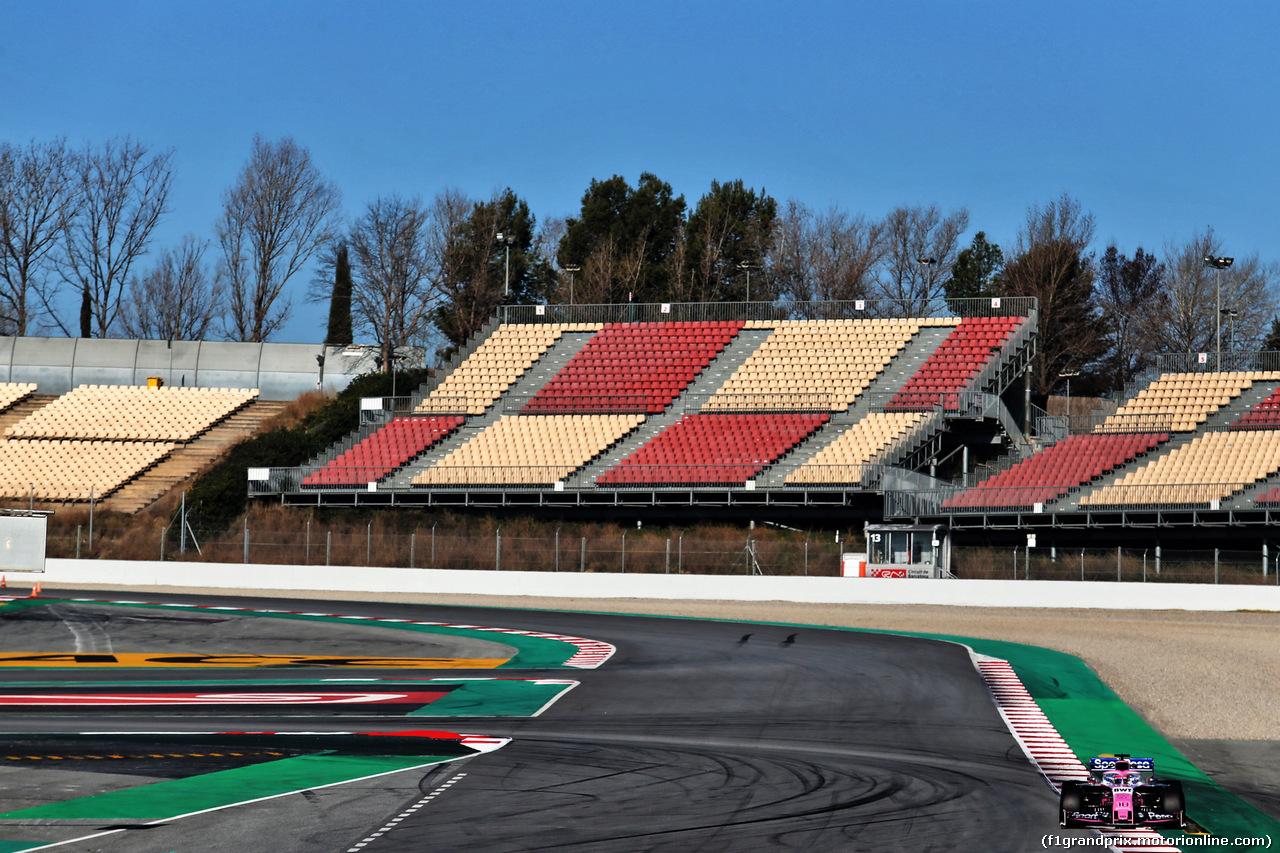 TEST F1 BARCELLONA 26 FEBBRAIO, Lance Stroll (CDN) Racing Point F1 Team RP19. 26.02.2019.