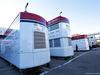 TEST F1 BARCELLONA 26 FEBBRAIO, Alfa Romeo Racing trucks in the paddock. 26.02.2019.