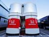 TEST F1 BARCELLONA 26 FEBBRAIO, Honda trucks in the paddock. 26.02.2019.