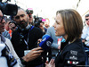 TEST F1 BARCELLONA 27 FEBBRAIO, Claire Williams (GBR) Williams Racing Deputy Team Principal with the media. 27.02.2019.