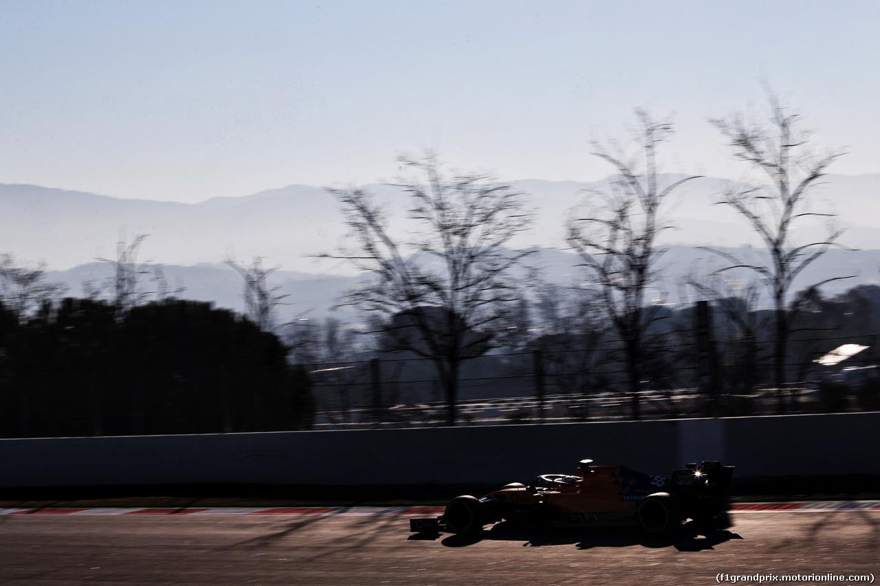 TEST F1 BARCELLONA 27 FEBBRAIO, Carlos Sainz Jr (ESP) McLaren MCL34. 27.02.2019.