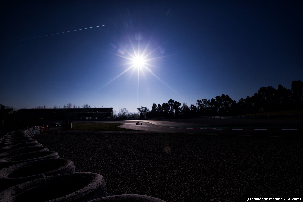 TEST F1 BARCELLONA 27 FEBBRAIO, Low light action. 27.02.2019.
