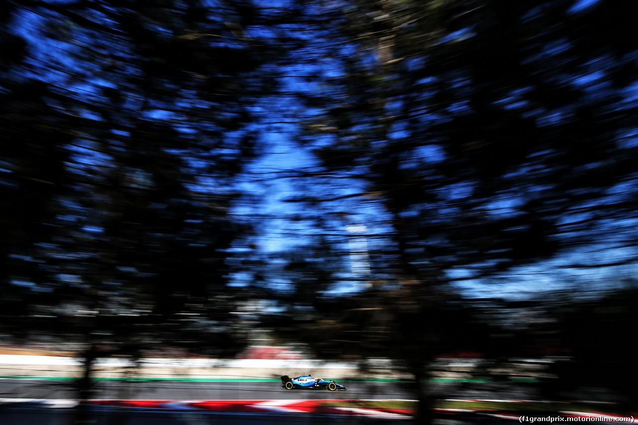 TEST F1 BARCELLONA 27 FEBBRAIO, Robert Kubica (POL) Williams Racing FW42. 27.02.2019.