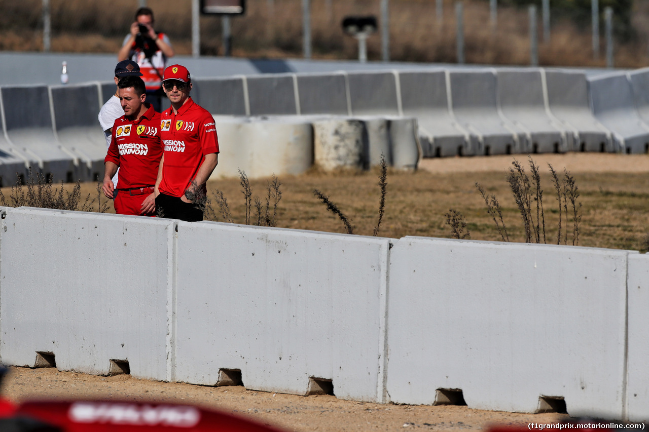TEST F1 BARCELLONA 27 FEBBRAIO, Charles Leclerc (MON) Ferrari. 27.02.2019.
