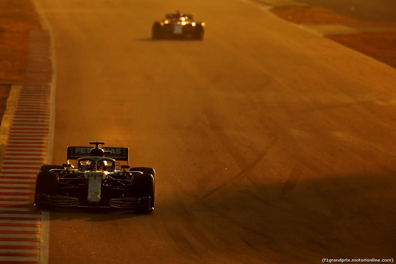 TEST F1 BARCELLONA 27 FEBBRAIO, Lewis Hamilton (GBR), Mercedes AMG F1   27.02.2019.