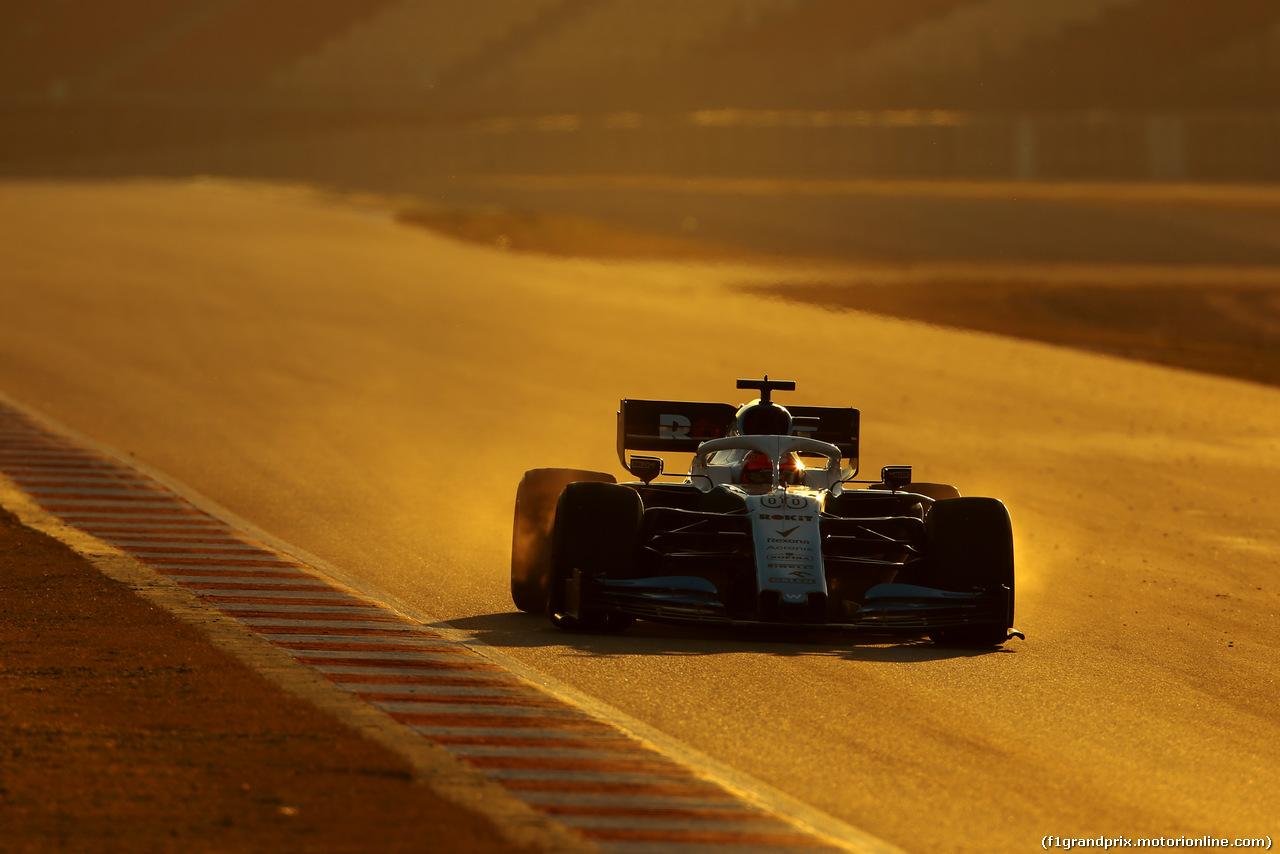 TEST F1 BARCELLONA 27 FEBBRAIO, Robert Kubica (POL), Williams F1 Team  27.02.2019.