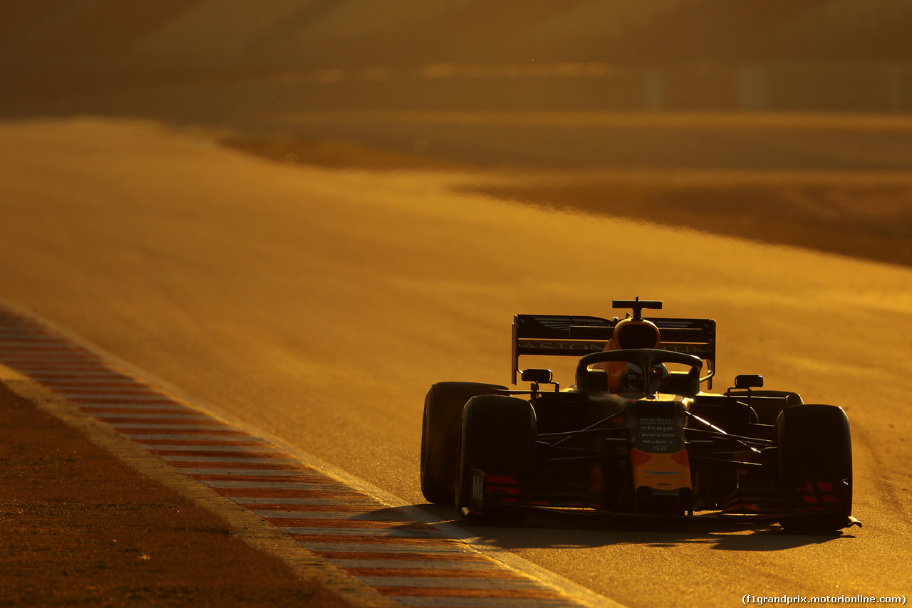 TEST F1 BARCELLONA 27 FEBBRAIO, Max Verstappen (NLD), Red Bull Racing  27.02.2019.