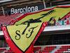 TEST F1 BARCELLONA 27 FEBBRAIO, Ferrari fans e banners in the grandstand. 27.02.2019.