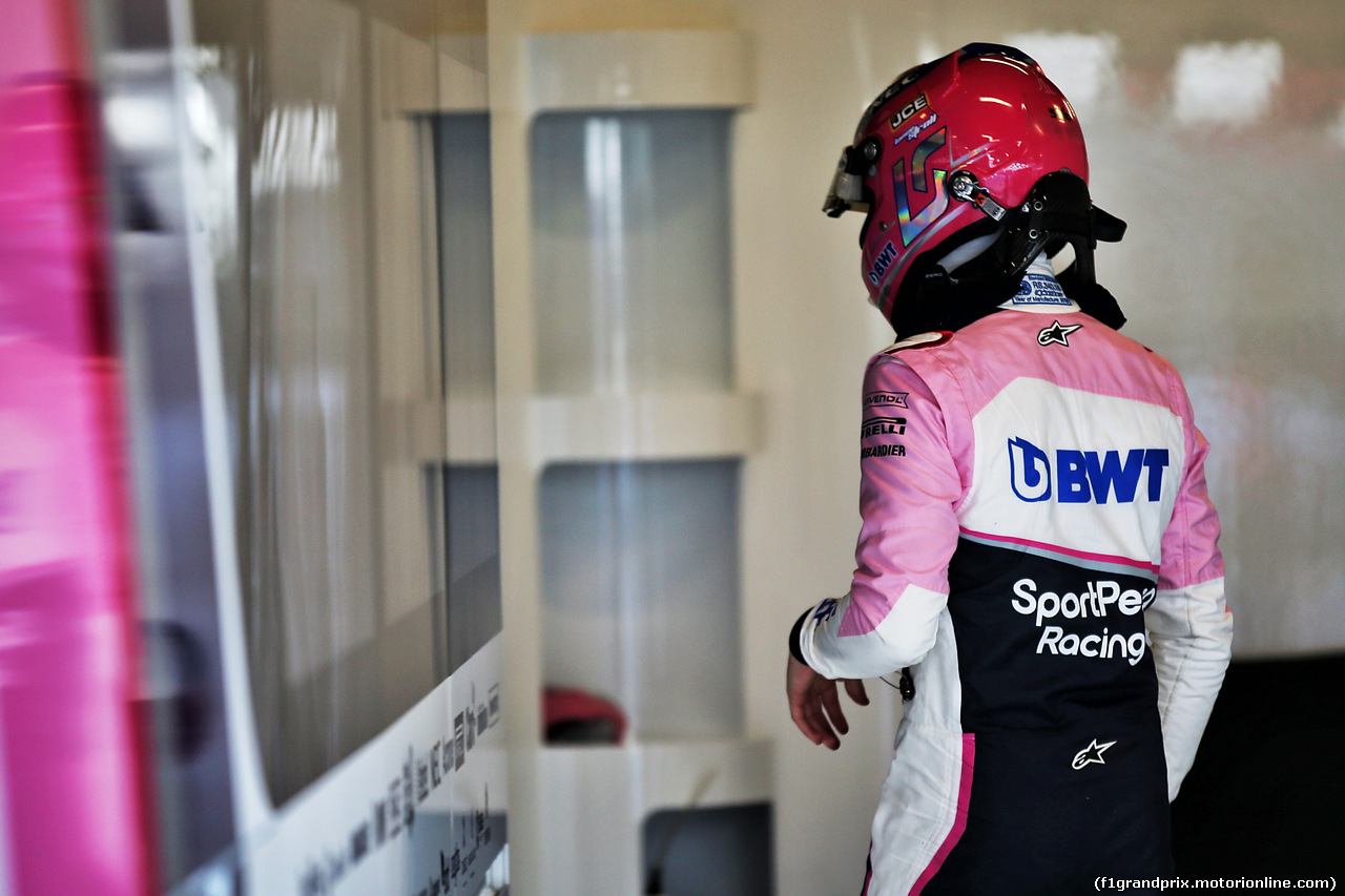 TEST F1 BARCELLONA 28 FEBBRAIO, Lance Stroll (CDN) Racing Point F1 Team. 28.02.2019.
