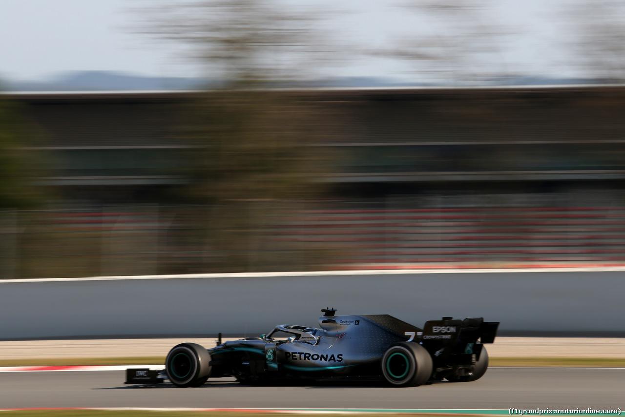 TEST F1 BARCELLONA 28 FEBBRAIO, Valtteri Bottas (FIN), Mercedes AMG F1  28.02.2019.