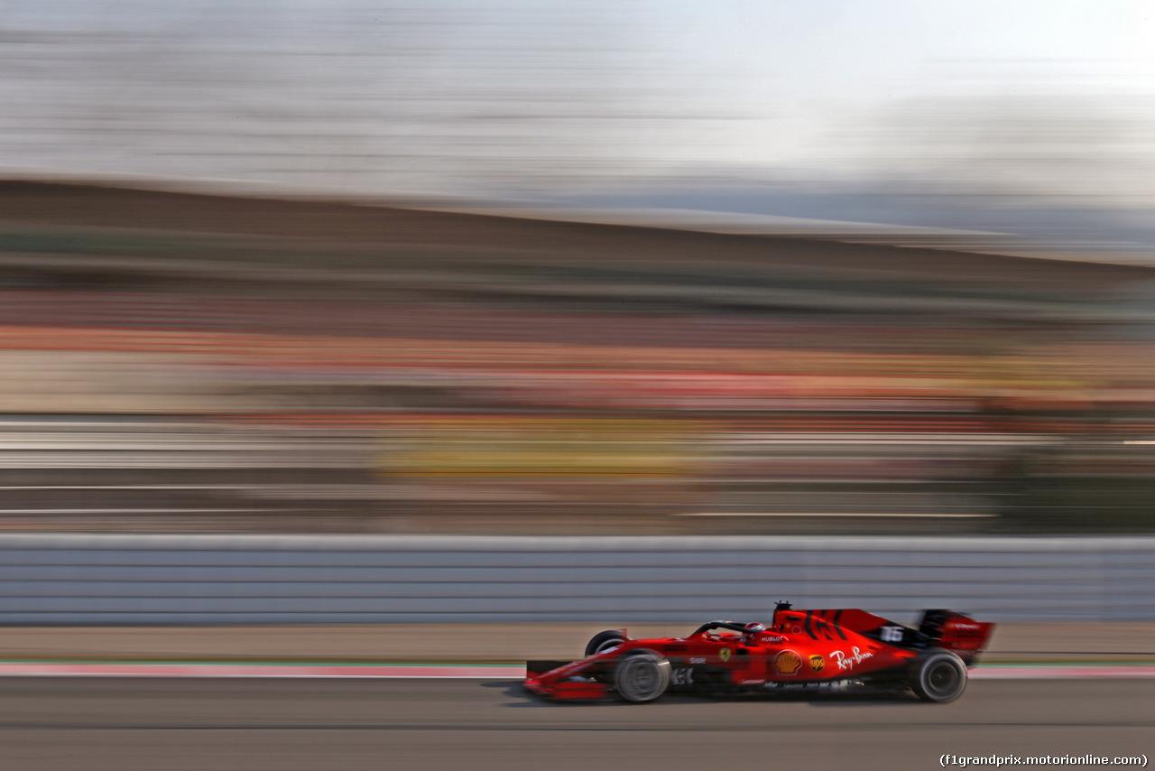 TEST F1 BARCELLONA 28 FEBBRAIO, Charles Leclerc (FRA), Ferrari  28.02.2019.