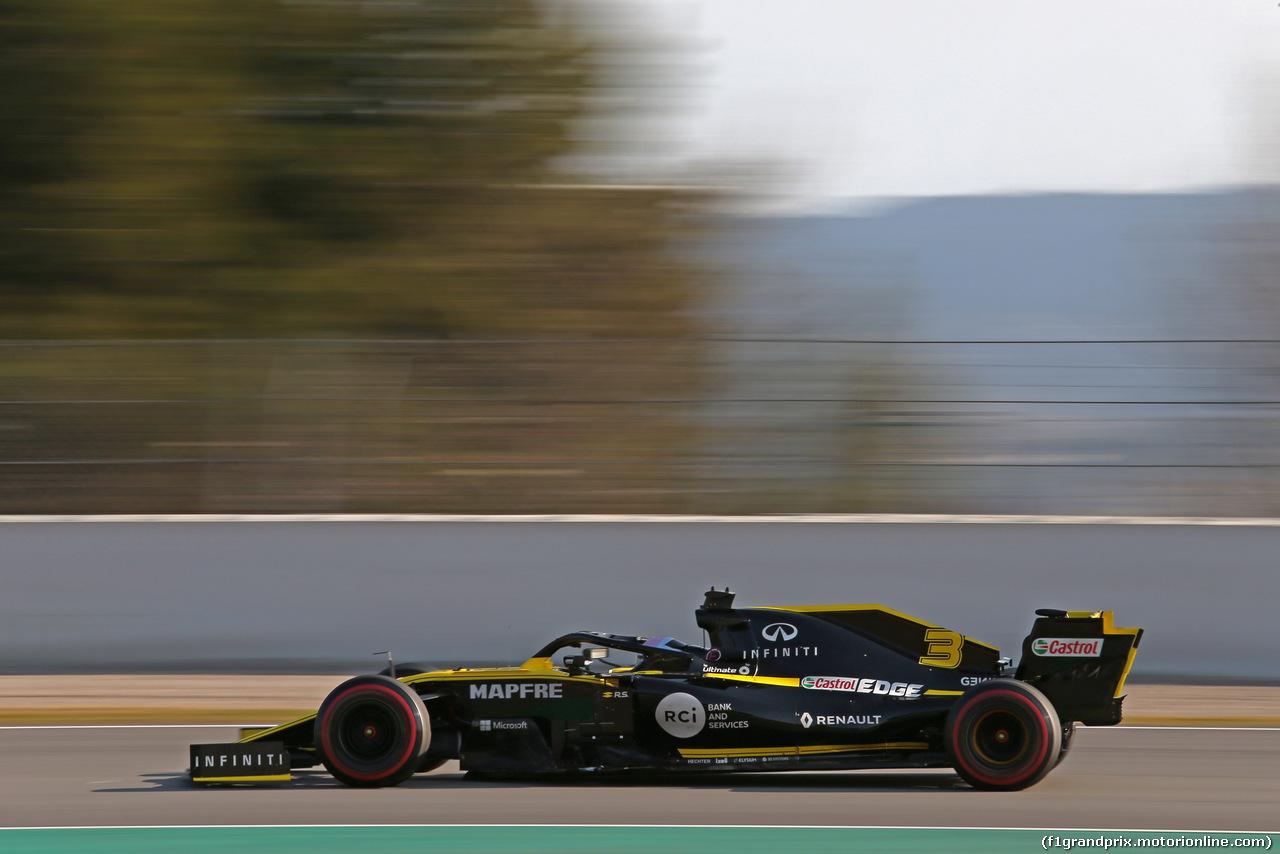TEST F1 BARCELLONA 28 FEBBRAIO, Daniel Ricciardo (AUS), Renault F1 Team  28.02.2019.