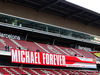 TEST F1 BARCELLONA 28 FEBBRAIO, Michael Schumacher (GER) banner in the grandstand. 28.02.2019.