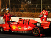 TEST F1 BARCELLONA 28 FEBBRAIO, Charles Leclerc (MON) Ferrari SF90 stops on the circuit. 28.02.2019.