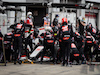 GP EIFEL, Kevin Magnussen (DEN) Haas VF-20 makes a pit stop. 11.10.2020. Formula 1 World Championship, Rd 11, Eifel Grand Prix, Nurbugring, Germany, Gara Day. - www.xpbimages.com, EMail: requests@xpbimages.com © Copyright: Bearne / XPB Images