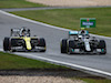 GP EIFEL, (L to R): Daniel Ricciardo (AUS) Renault F1 Team battle for position with Valtteri Bottas (FIN) Mercedes AMG F1 W11.
