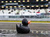 GP EIFEL, Williams Racing rubber duck in the pits. 09.10.2020. Formula 1 World Championship, Rd 11, Eifel Grand Prix, Nurbugring, Germany, Practice Day. - www.xpbimages.com, EMail: requests@xpbimages.com © Copyright: Bearne / XPB Images
