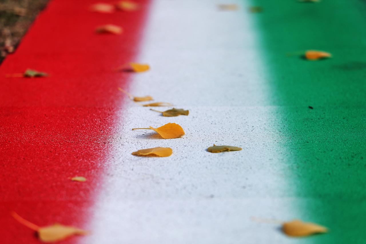 GP EMILIA ROMAGNA, Circuit Atmosfera - track detail. 29.10.2020. Formula 1 World Championship, Rd 13, Emilia Romagna Grand Prix, Imola, Italy, Preparation Day. - www.xpbimages.com, EMail: requests@xpbimages.com © Copyright: Moy / XPB Images