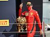 GP GRAN BRETAGNA, Charles Leclerc (MON) Ferrari celebrates his third position in parc ferme.                                02.08.2020. Formula 1 World Championship, Rd 4, British Grand Prix, Silverstone, England, Gara Day. - www.xpbimages.com, EMail: requests@xpbimages.com © Copyright: Dungan / XPB Images
