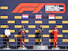 GP GRAN BRETAGNA, The podium (L to R): Gilles Pironi (FRA) Mercedes AMG F1; Max Verstappen (NLD) Red Bull Racing, second; Lewis Hamilton (GBR) Mercedes AMG F1, vincitore; Charles Leclerc (MON) Ferrari, third.