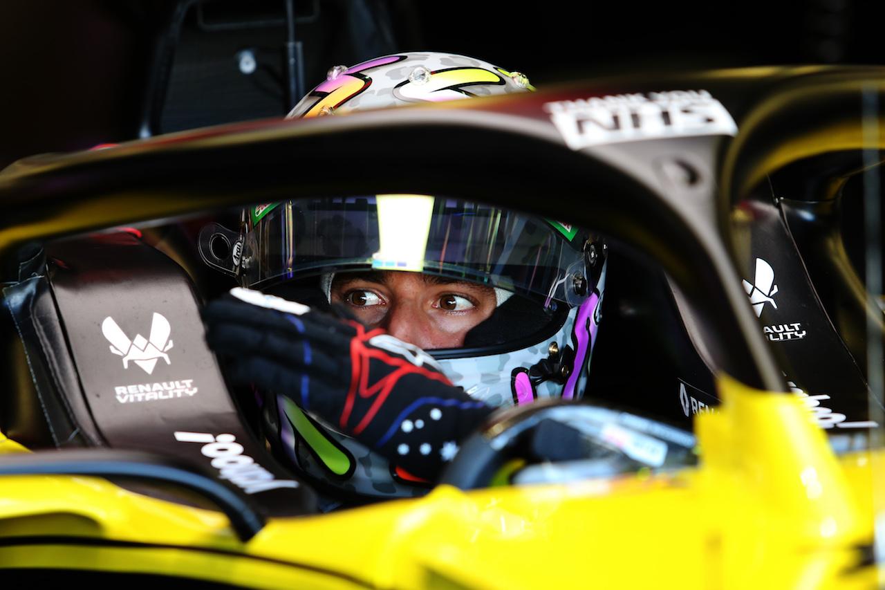 GP GRAN BRETAGNA, Daniel Ricciardo (AUS) Renault F1 Team RS20. 31.07.2020. Formula 1 World Championship, Rd 4, British Grand Prix, Silverstone, England, Practice Day. - www.xpbimages.com, EMail: requests@xpbimages.com © Copyright: Moy / XPB Images