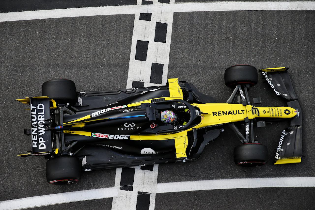 GP GRAN BRETAGNA, Daniel Ricciardo (AUS) Renault F1 Team RS20. 31.07.2020. Formula 1 World Championship, Rd 4, British Grand Prix, Silverstone, England, Practice Day. - www.xpbimages.com, EMail: requests@xpbimages.com © Copyright: Batchelor / XPB Images