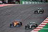 GP PORTOGALLO, (L to R): Carlos Sainz Jr (ESP) McLaren MCL35 e Valtteri Bottas (FIN) Mercedes AMG F1 W11 battle for the lead of the race. 25.10.2020. Formula 1 World Championship, Rd 12, Portuguese Grand Prix, Portimao, Portugal, Gara Day. - www.xpbimages.com, EMail: requests@xpbimages.com © Copyright: Batchelor / XPB Images