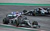 GP PORTOGALLO, Lewis Hamilton (GBR) Mercedes AMG F1 W11. 25.10.2020. Formula 1 World Championship, Rd 12, Portuguese Grand Prix, Portimao, Portugal, Gara Day. - www.xpbimages.com, EMail: requests@xpbimages.com © Copyright: Charniaux / XPB Images