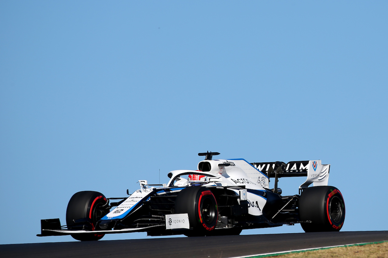 GP PORTOGALLO, George Russell (GBR) Williams Racing FW43.24.10.2020. Formula 1 World Championship, Rd 12, Portuguese Grand Prix, Portimao, Portugal, Qualifiche Day.- www.xpbimages.com, EMail: requests@xpbimages.com © Copyright: Batchelor / XPB Images