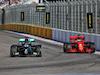 GP RUSSIA, Lewis Hamilton (GBR) Mercedes AMG F1 W11 e Sebastian Vettel (GER) Ferrari SF1000. 27.09.2020. Formula 1 World Championship, Rd 10, Russian Grand Prix, Sochi Autodrom, Sochi, Russia, Gara Day. - www.xpbimages.com, EMail: requests@xpbimages.com © Copyright: Charniaux / XPB Images