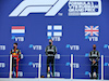 GP RUSSIA, The podium (L to R): Max Verstappen (NLD) Red Bull Racing, second; Valtteri Bottas (FIN) Mercedes AMG F1, vincitore; Lewis Hamilton (GBR) Mercedes AMG F1, third.