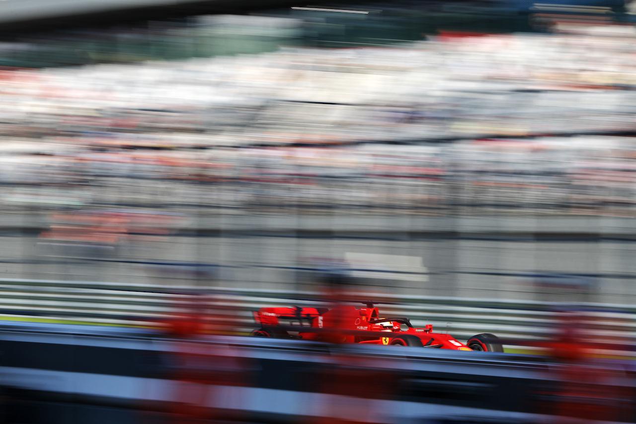 GP RUSSIA, Sebastian Vettel (GER) Ferrari SF1000. 25.09.2020. Formula 1 World Championship, Rd 10, Russian Grand Prix, Sochi Autodrom, Sochi, Russia, Practice Day. - www.xpbimages.com, EMail: requests@xpbimages.com © Copyright: Moy / XPB Images