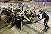 GP SAKHIR, Esteban Ocon (FRA) Renault F1 Team RS20 makes a pit stop. 06.12.2020. Formula 1 World Championship, Rd 16, Sakhir Grand Prix, Sakhir, Bahrain, Gara Day. - www.xpbimages.com, EMail: requests@xpbimages.com © Copyright: Charniaux / XPB Images