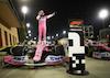 GP SAKHIR, Gara winner Sergio Perez (MEX) Racing Point F1 Team RP19 celebrates in parc ferme. 06.12.2020. Formula 1 World Championship, Rd 16, Sakhir Grand Prix, Sakhir, Bahrain, Gara Day. - www.xpbimages.com, EMail: requests@xpbimages.com © Copyright: FIA Pool Image for Editorial Use Only