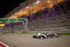 GP SAKHIR, Nicholas Latifi (CDN) Williams Racing FW43 e Kevin Magnussen (DEN) Haas VF-20 battle for position. 06.12.2020. Formula 1 World Championship, Rd 16, Sakhir Grand Prix, Sakhir, Bahrain, Gara Day. - www.xpbimages.com, EMail: requests@xpbimages.com © Copyright: Bearne / XPB Images