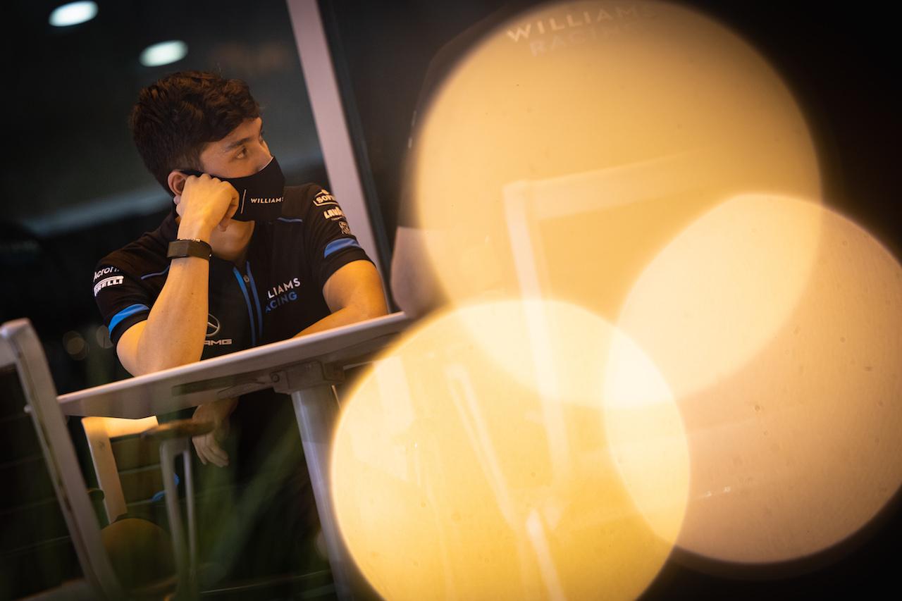 GP SAKHIR, Jack Aitken (GBR) / (KOR) Williams Racing. 03.12.2020. Formula 1 World Championship, Rd 16, Sakhir Grand Prix, Sakhir, Bahrain, Preparation Day. - www.xpbimages.com, EMail: requests@xpbimages.com © Copyright: Bearne / XPB Images