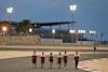GP SAKHIR, Antonio Giovinazzi (ITA) Alfa Romeo Racing walks the circuit with the team. 03.12.2020. Formula 1 World Championship, Rd 16, Sakhir Grand Prix, Sakhir, Bahrain, Preparation Day. - www.xpbimages.com, EMail: requests@xpbimages.com © Copyright: Moy / XPB Images