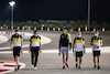GP SAKHIR, Esteban Ocon (FRA) Renault F1 Team walks the circuit with the team. 03.12.2020. Formula 1 World Championship, Rd 16, Sakhir Grand Prix, Sakhir, Bahrain, Preparation Day. - www.xpbimages.com, EMail: requests@xpbimages.com © Copyright: Charniaux / XPB Images