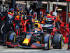 GP SPAGNA, Alexander Albon (THA) Red Bull Racing RB16 makes a pit stop. 16.08.2020. Formula 1 World Championship, Rd 6, Spanish Grand Prix, Barcelona, Spain, Gara Day. - www.xpbimages.com, EMail: requests@xpbimages.com © Copyright: Charniaux / XPB Images